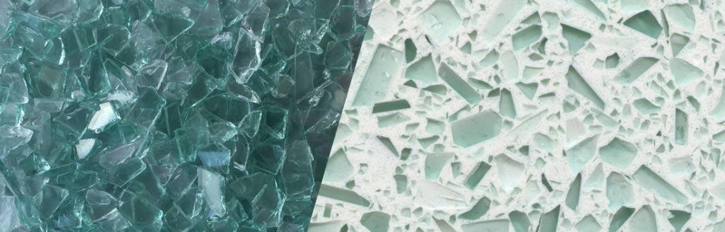 Auto Green Glass Aggregate