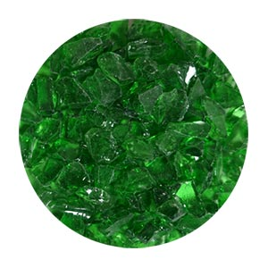 Emerald Green Glass Size 2