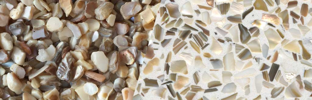 Fresh Water Mother of Pearl Aggregate