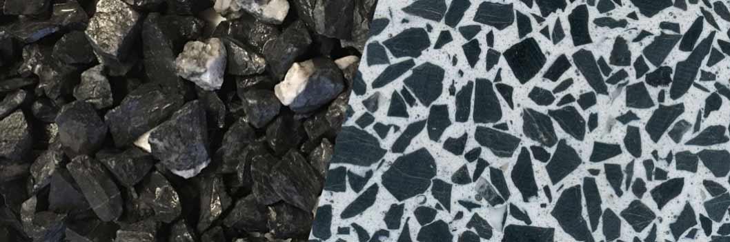 TERRAZZCO Glacier Black
