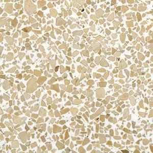Gold Rush Terrazzo Sample