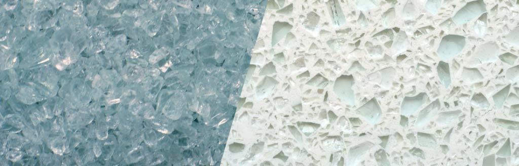 TERRAZZCO Plate Glass Aggregate