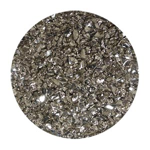 Silver Coated Glass Size 0
