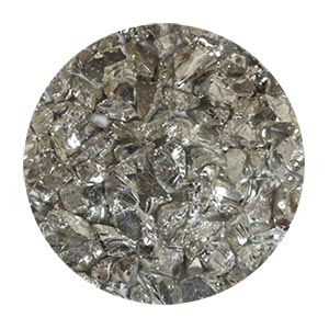 Silver Coated Glass Size 2