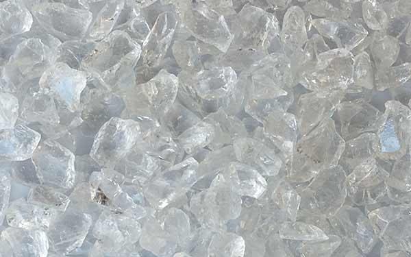 TERRAZZCO Clear Glass Aggregate