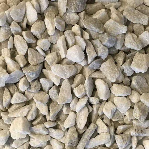 TERRAZZCO Georgia White Marble Chip