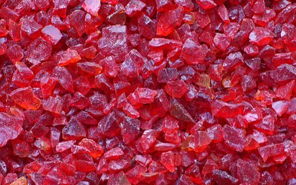TERRAZZCO Red Glass