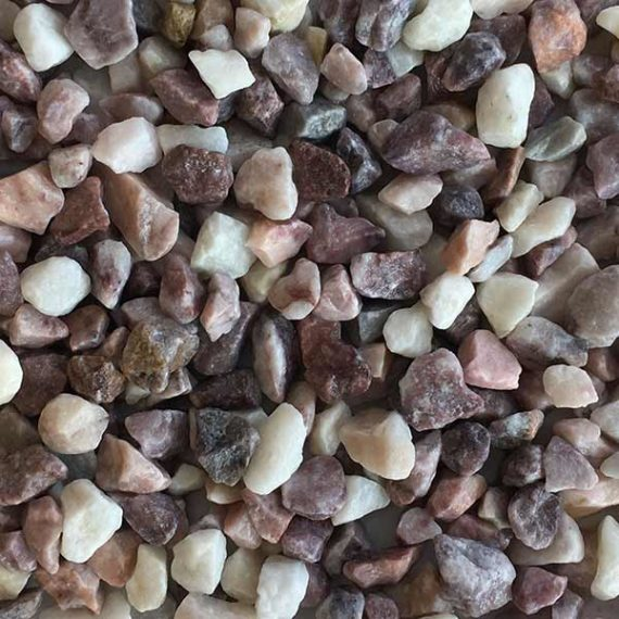 TERRAZZCO White Rose Marble Chip