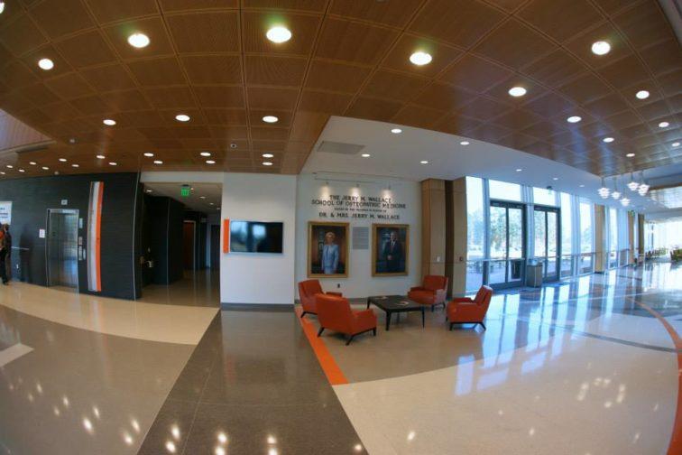 Epoxy Thin-Set Terrazzo at Campbell University