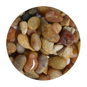Golden Brown Pebbles Size 2