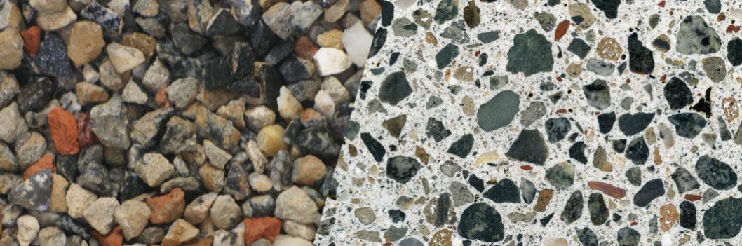 TERRAZZCO Recycled Concrete Terrazzo