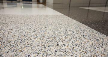 Arabescato Terrazzo Floor