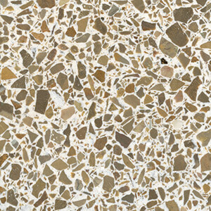 Copper Cream Terrazzo Sample