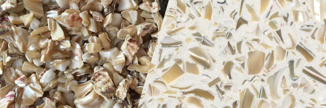 TERRAZZCO Classic Mother of Pearl Aggregate