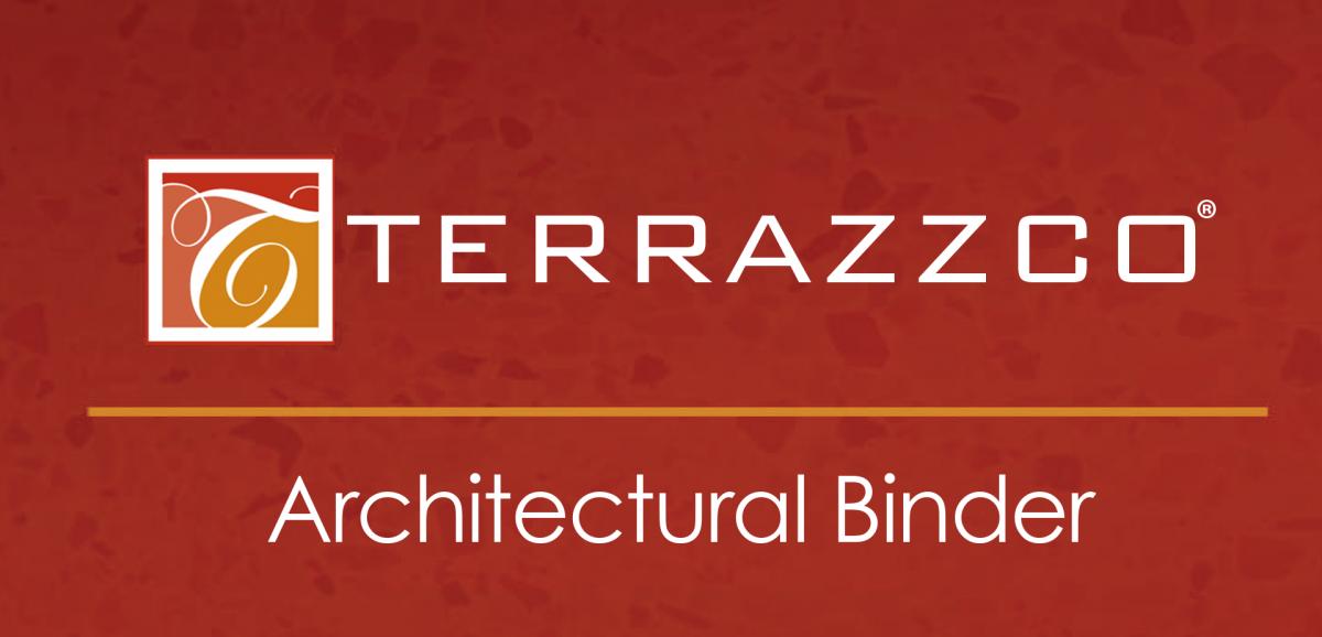 TERRAZZCO Architectural Binder
