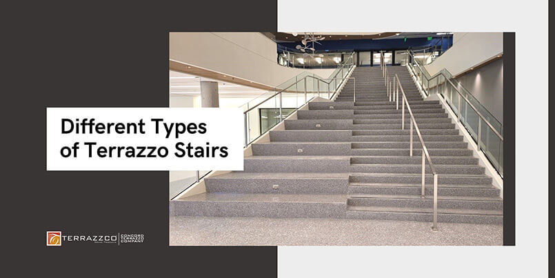 Different Types of Terrazzo Stairs