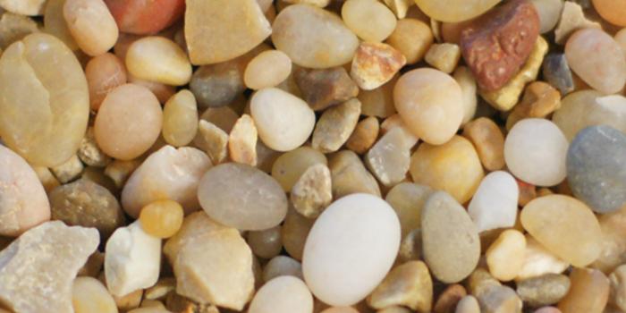 Golden Brown Pebbles Terrazzo Aggregate