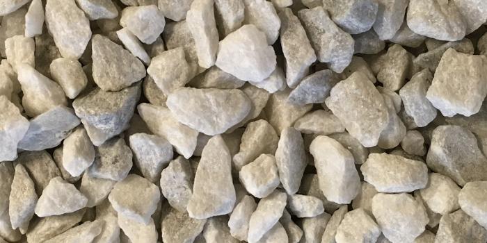 Georgia White Marble Terrazzo Aggregates