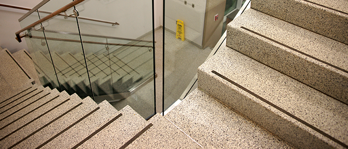 Terrazzo Products: Precast Terrazzo Stair Tread