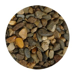 TERRAZZCO Chocolate Brown Pebbles Size 2