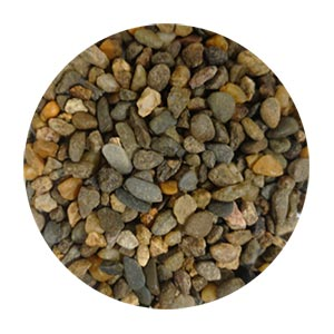 Chocolate Brown Pebbles Size 1