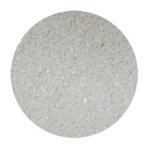 TERRAZZCO Solid White Glass Size 0