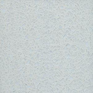 TERRAZZCO Solid White Glass Terrazzo