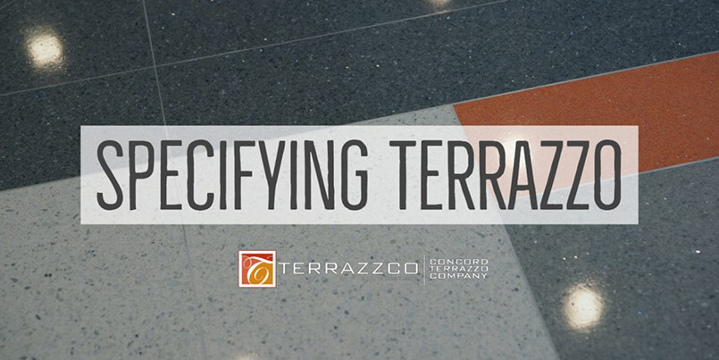 Specifying Terrazzo
