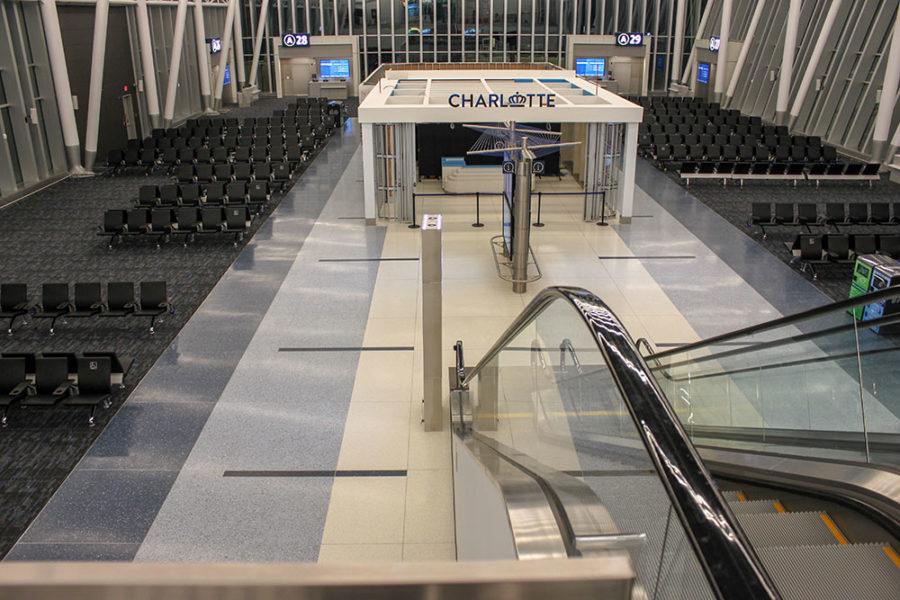 Charlotte Douglas International Airport Terrazzo Flooring