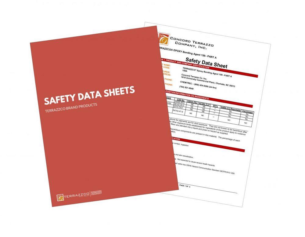 TERRAZZCO Safety Data Sheets