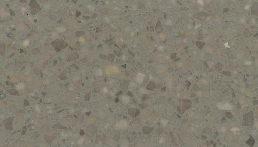 Monochrome Terrazzo Sample 1121 - Earth Blend