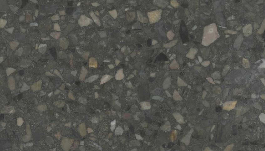Monochrome Terrazzo Sample 1127 - Light Mahogany