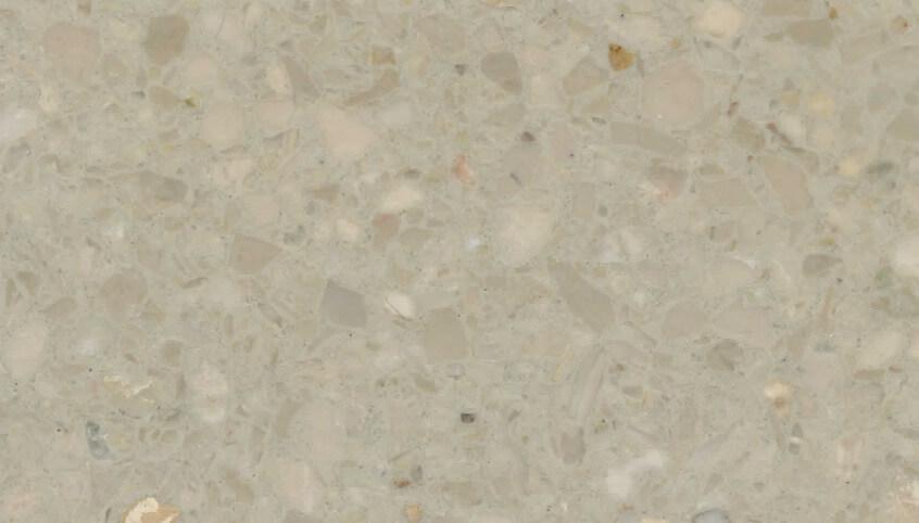 Monchrome Terrazzo Sample 1210 - Persian Cream