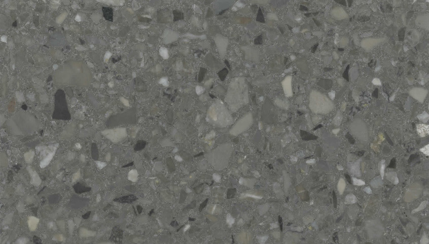 Monochrome Terrazzo Sample 1211 - Driftwood