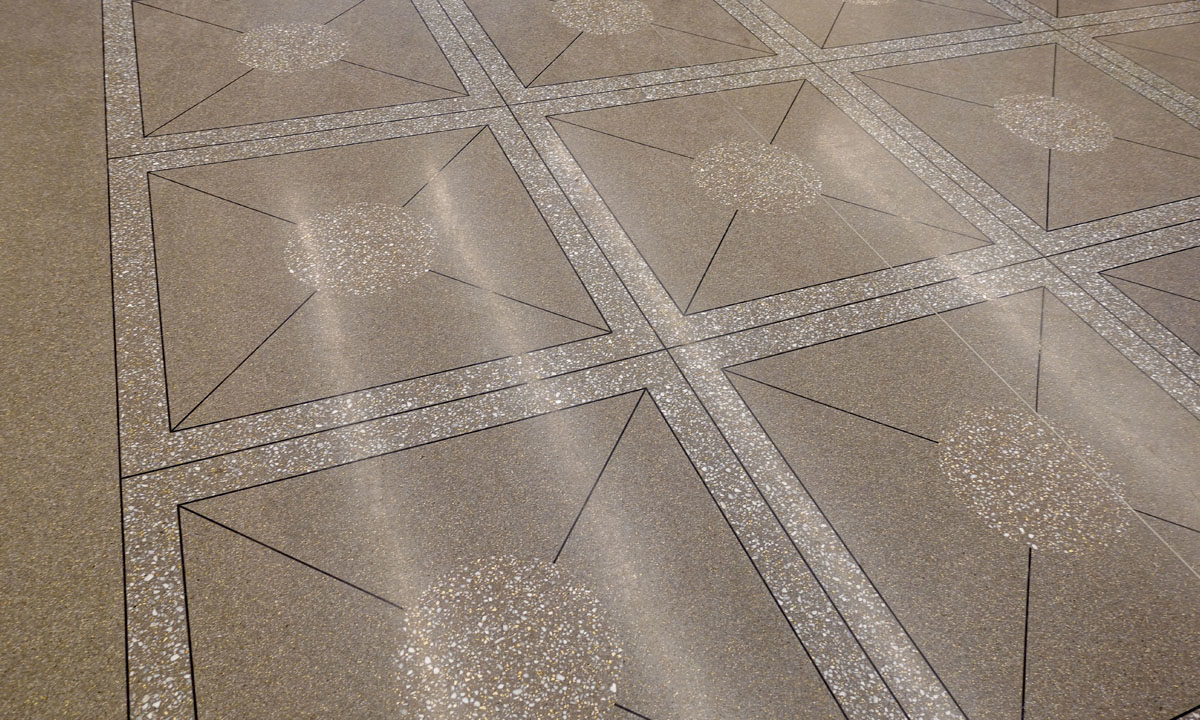 One City Center - Terrazzo Flooring Raleigh Durham