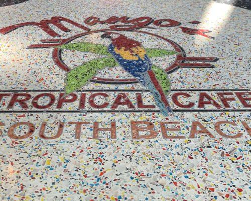 Mango's Tropical Cafe - Terrazzo Flooring in Miami