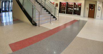 Wando High School - Terrazzo Flooring