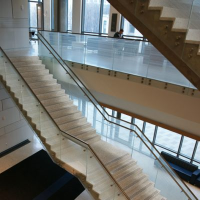 Epoxy Terrazzo Stair Treads and Risers Combo
