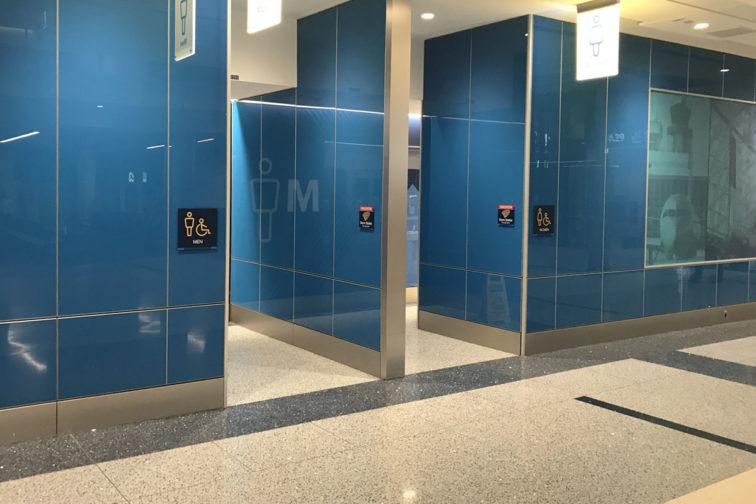 CDIA Airport Restroom - Terrazzo