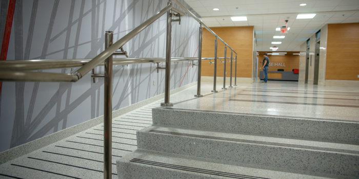 Custom Terrazzo Stairs