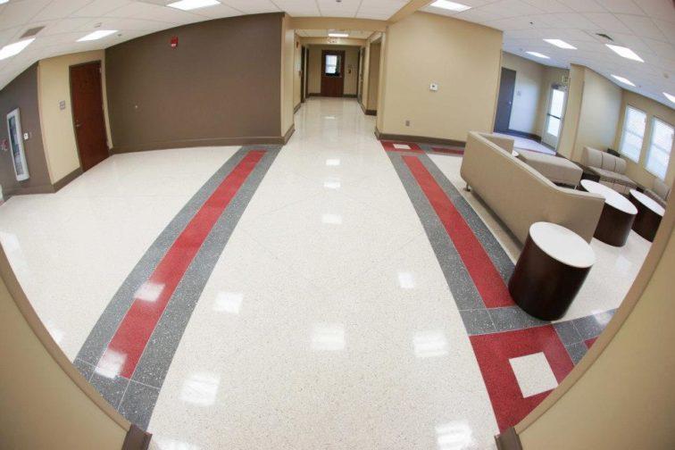 Antimicrobial Epoxy Terrazzo Flooring