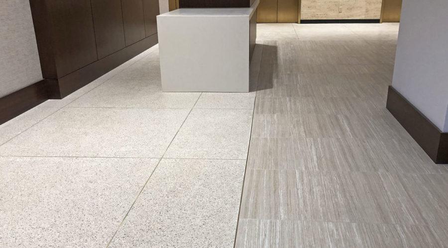 Terrazzo Floor Overlay