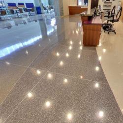 Terrazzo Floor - Aluminum Divider Strips
