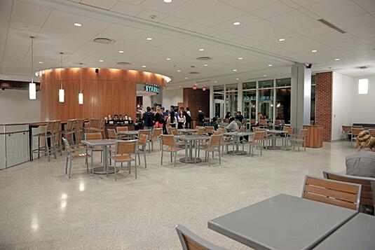 Jerry Falwell Library White Terrazzo Floor