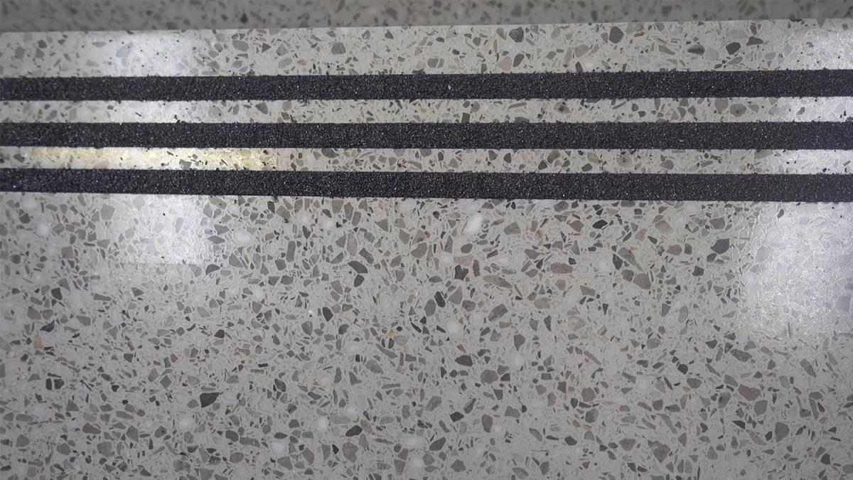 Precast Terrazzo Stair Tread