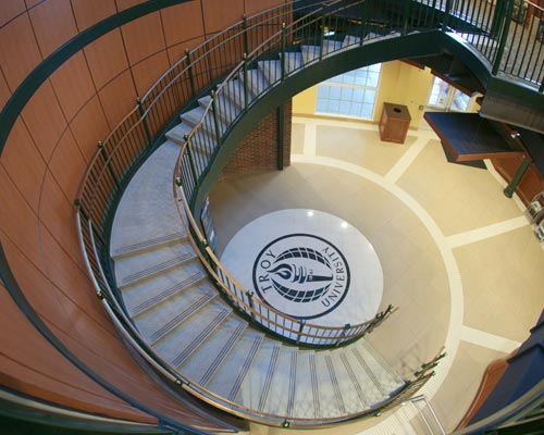 Curved Terrazzo Stairs