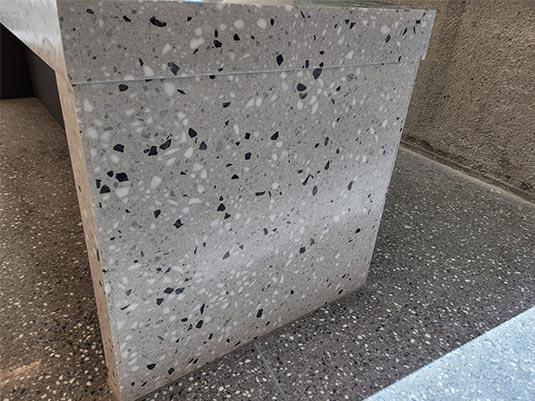 Gray Terrazzo Countertops