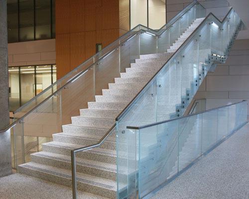 Straight Terrazzo Stairs
