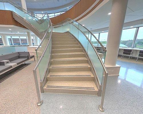 Precast Terrazzo Staircase