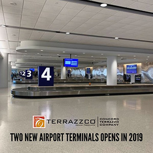Two new airport terminals open in 2019